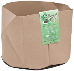 "Tan Smart Pot - 15 Gallons 18"" Wide x 13.5"" Tall"