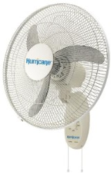 Hurricane 18in. 3-Speed Wall Mount Oscillating Fan