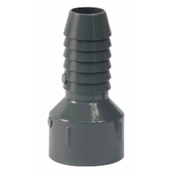 "Mag Drive Fitting 3/4"" Female NPT x 3/4"" FlexPVC Barb"