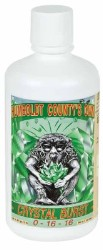 Emerald Triangle Crystal Burst Quart