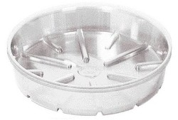 "Bond Clear Plastic Saucer 8"" pack of 25"