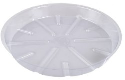 Bond Clear Plastic Saucer 12""
