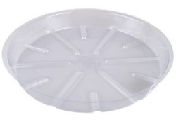 "Bond Clear Plastic Saucer 21"" pack of 25"
