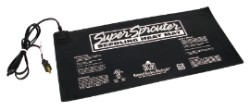"Super Sprouter Seedling Heat Mat 10"" x 20"""