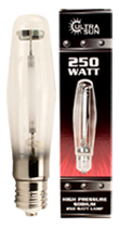Ultra Sun 250 Watt Sodium Lamp