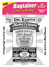 Dr Earth Home Grown Potting Soil Bagtainer 13 Qt