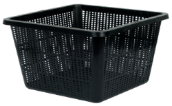 "9"" Square Mesh Pot case of 25"