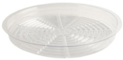 "Gro Pro 17.5"" Clear Saucer pack of 25"