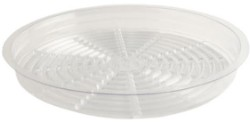 "Gro Pro 19.5"" Clear Saucer"
