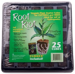 Root Riot 25 Cube Tray with Clonex Gel