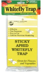 Sticky Aphid Whitefly Trap 3/Pack, Case of 24