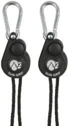 Sun Grip Push Button Light Hanger 1/8 in - 1/Pair