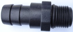 "EcoPlus Pump Fitting 1/2"" NPT Threaded x 3/4"" Barbed Fitting"
