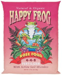 Happy Frog Rose Food Organic Fertilizer 18 lbs