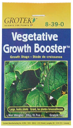 Vegetative Growth Booster 20 Gm pack of 10