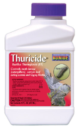 Thuricide Bacillus Thuringiensis Concentrate Pint