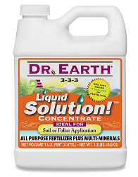 Dr Earth Liquid Solution Quart