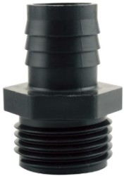 "Hydro Flow 1/2"" Garden Hose Thread Adapter to 1/2"" Barbed"