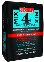 Sunshine Mix #4 with Mycorrhizae 3 cf pallet of 35