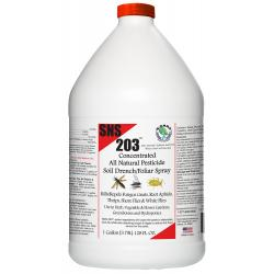 SNS 203 Conc. Pesticide Soil Drench/Foliar Spray Gallon (4/Cs)