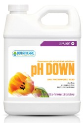 Botanicare pH Down Qt, case of 12