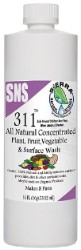 SNS 311 Plant And Vegetable Wash 16oz