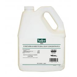 Safer Pyrethrin & Insecticidal Soap Concentrate II, 1 gal, case of 4