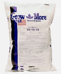 Grow More Foliage Developer 30-10-10, 25 lb
