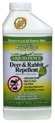 Liquid Fence Deer And Rabbit Repellent 40oz Concentrate
