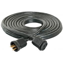 Lamp Cord Extension, 25', Lock & Seal