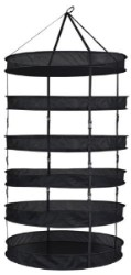 Grower's Edge Dry Rack 3ft W/ Clips