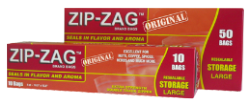 Zip-Zag Bags 10.75 X 11 (50/box)