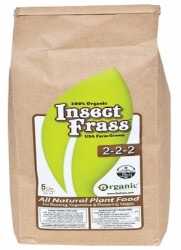 Organic Nutrients Insect Frass 5 Lb