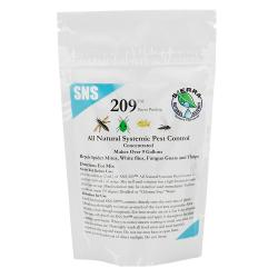 SNS 209 Systemic Pest Control Concentrate 2.5oz Pouch
