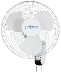 Hurricane 16in Wall Mount Oscillating Fan