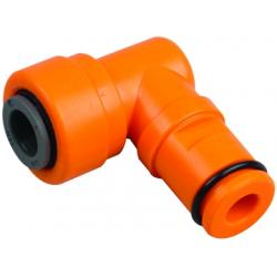 Hydrologic Evolution RO 1:1 Ratio Flow Restrictor Elbow