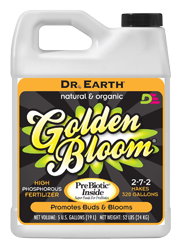 Dr Earth Golden Bloom 2.5 Gallon