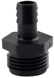 "Hydro Flow Garden Hose Thread Adapter to 1/2"" Barbed"
