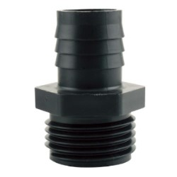 "Hydro Flow Garden Hose Thread Adapter to 3/4"" Barbed pack of 10"