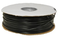 "Black Poly Tubing 3/16"" ID 1/4"" OD 1000 Feet"