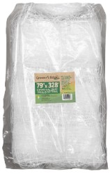 "Grower's Edge Commercial Grade Trellis Netting 79"" x 328 Foot 6"" Holes"