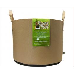 Smart Pot w/Handles, 15 gal, Tan
