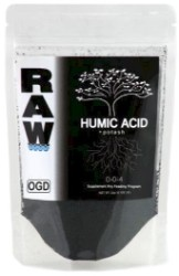 NPK Raw Humic Acid 0.125 Lb Dry