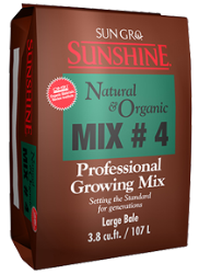 Sunshine # 4 Natural And Organic 3.8 Cu Ft Compressed Bale