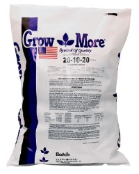 Grow More Soilless 20-10-20, 25 lb