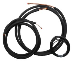 Mini Split Line Set - 1/4 in x 5/8 in - 25 ft for 2 or 3 Ton Single Zn