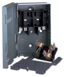 Electrical Disconnect Box, 30 Amp Fuseable