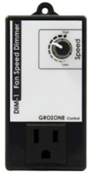 Grozone Control Dim1 Fan Speed Dimmer With Optional Kick Start