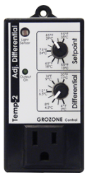 Grozone Control TP2 Adjustable Differential Tempstat