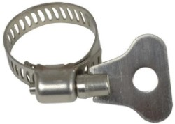 "Hydro Flow Butterfly Hose Clamps 3/4"" Bulk"